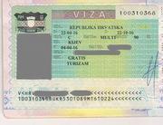 Виза в Хорватию (мульти на пол года)